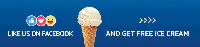 Get free ice cream when you visit our car dealership