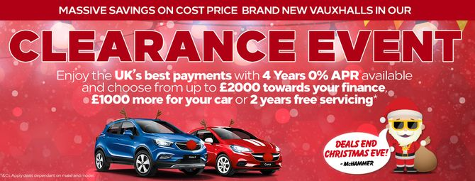 Vauxhall Offers