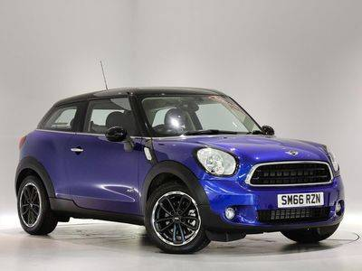 66 Plate MINI Cooper D ALL4 Paceman