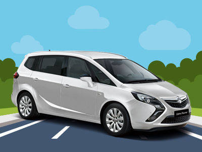 View the Brand New 67 Plate Zafira 1.4T Energy Online at Peter Vardy