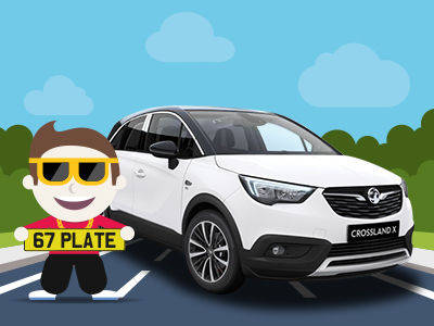 All-New 67 Plate Crossland X