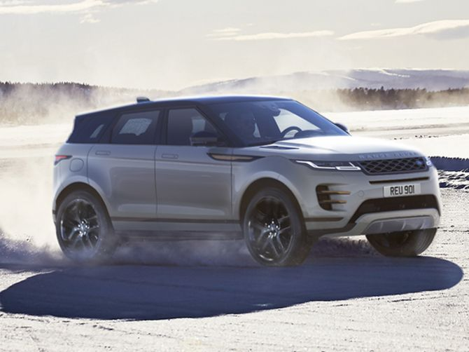 New Range Rover Evoque D150 AWD Automatic