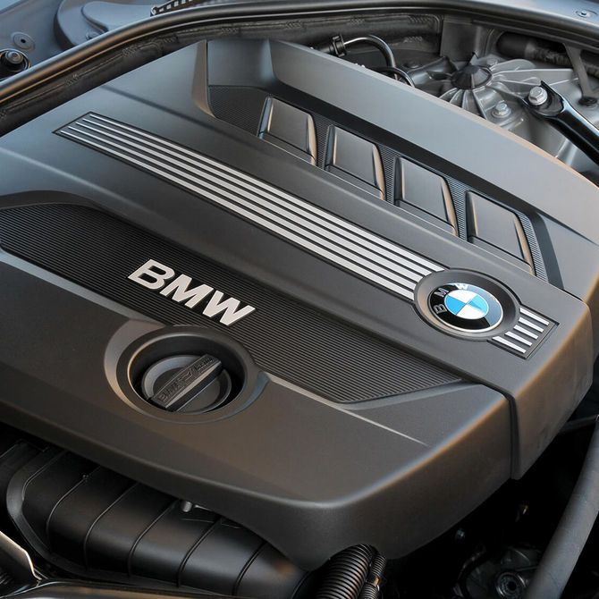 BMW 5 Series Saloon Engine