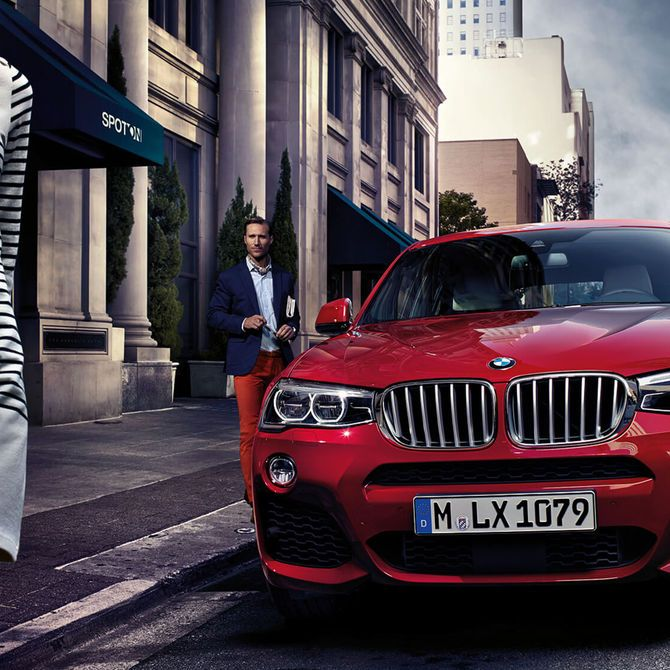 BMW X4 Exterior | Peter Vardy Edinburgh