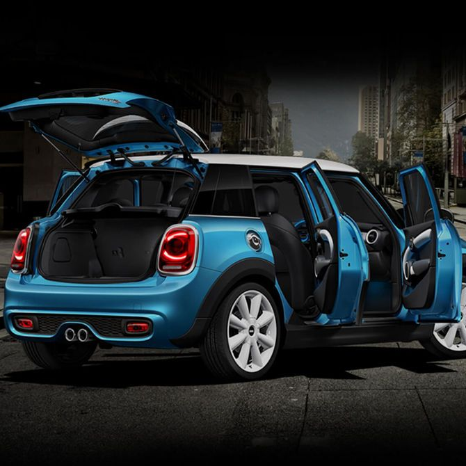 MINI 5-Door Hatch Cabin Space | Peter Vardy Edinburgh