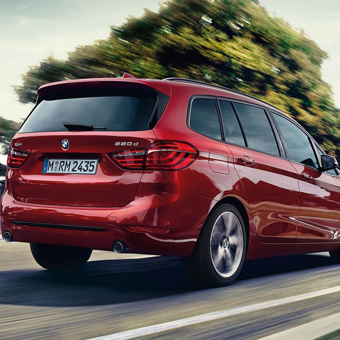 BMW 2 Series Gran Tourer Exterior | Peter Vardy Edinburgh