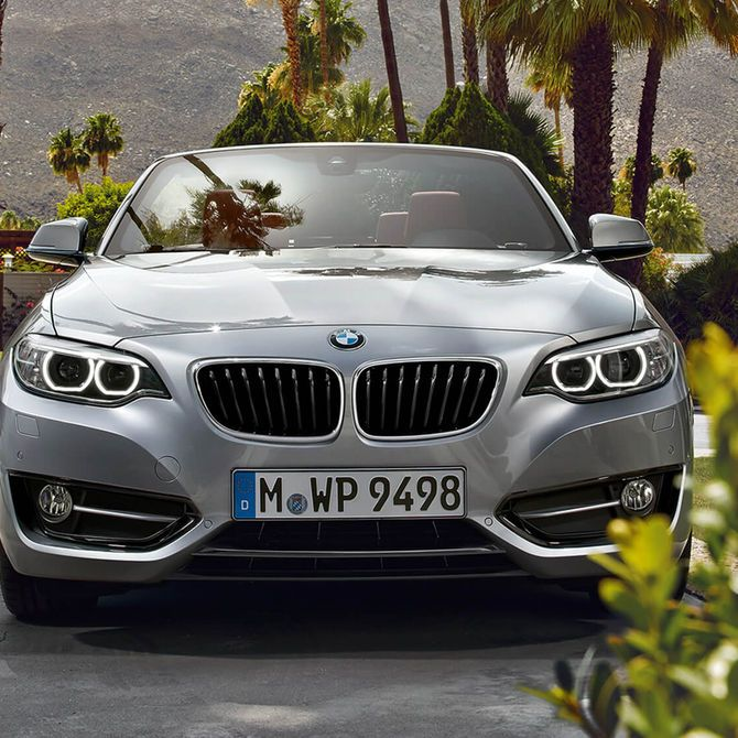 Front of BMW 2 Series Convertible | Peter Vardy Edinburgh