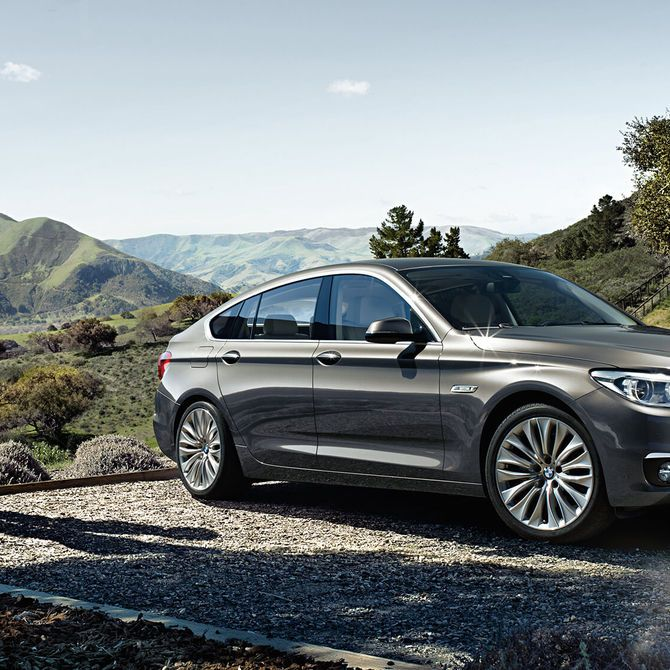 BMW 5 Series Gran Turismo Lifestyle | Peter Vardy Edinburgh